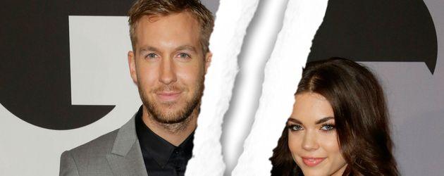 Calvin Harris und Aarika Wolf