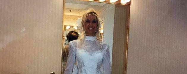 Carmen Geiss in ihrem Hochzeitskleid