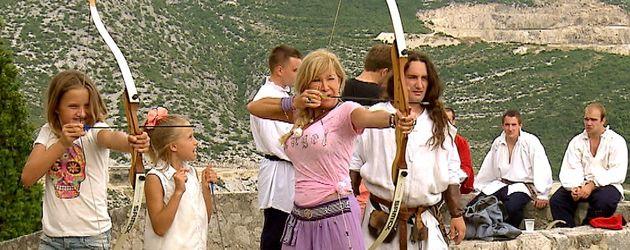 Carmen Geiss, Davina Shakira Geiss und Shania Tyra Geiss