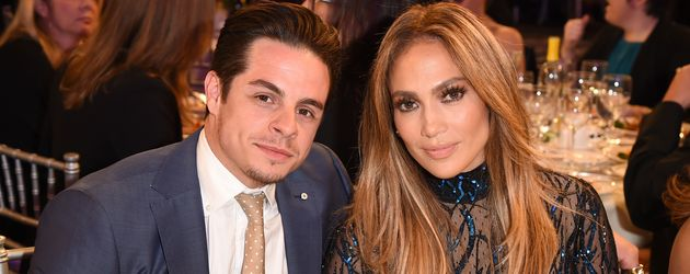 Casper Smart und Jennifer Lopez, 2014