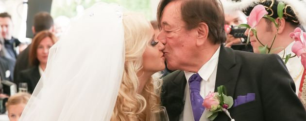 Cathy und Richard Lugner bei ihrer Hochzeit im September 2014