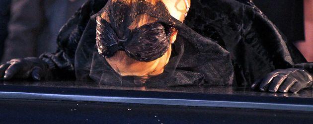 Celine Dion auf der Trauerfeier ihres verstorbenen Ehemannes René Angélil