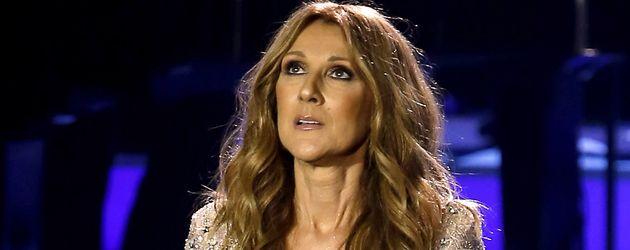 Celine Dion bei ihrem ersten Auftritt nach dem Tod ihres Mannes