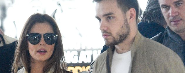 Cheryl Cole und Liam Payne am Flughafen Paris