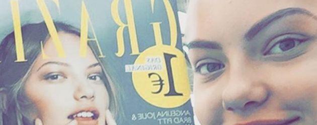 Cheyenne Ochsenknecht zeigt ihr Magazin-Cover