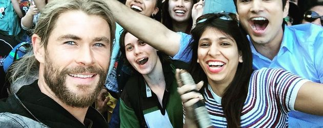 Chris Hemsworth in Brisbane, Australien