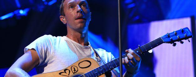 Chris Martin mit Gitarre