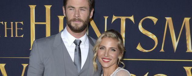 """Chris Hemsworth und Elsa Pataky bei der """"The Huntsman & The Ice Queen""""-Premiere"""