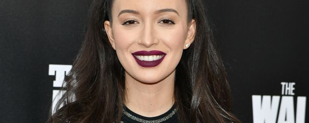 Christian Serratos bei der AMC Präsentation Talking Dead
