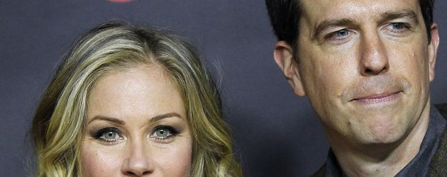 Christina Applegate und Ed Helms