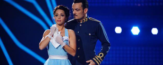 """Christina Luft und Giovanni Zarrella bei """"Let's Dance"""""""