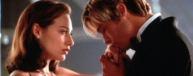 """Claire Forlani und Brad Pitt als Susan Parrish und Joe Black in """"Rendezvous mit Joe Black""""  1998"""
