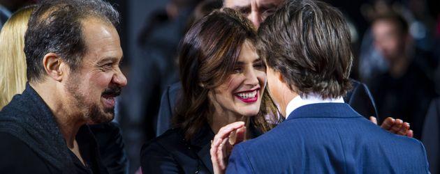"""Edward Zwick, Cobie Smulders und Tom Cruise auf der """"Jack Reacher 2""""-Europapremiere"""