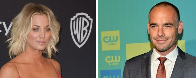 Kaley Cuoco und Paul Blackthorne