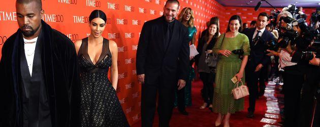 Kim Kardashian, Kanye West und Amy Schumer