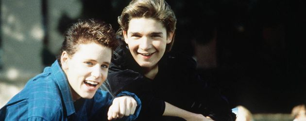 "Corey Feldman und Corey Haim in ""License to Drive"""