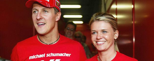 Michael Schumacher und seine Frau Corinna Schumacher