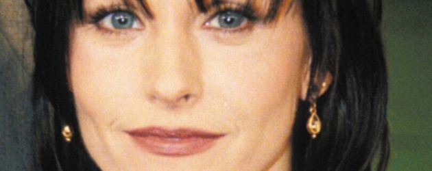 """Courteney Cox in den Neunzigerjahren während ihrer Zeit bei der Serie """"Friends"""""""