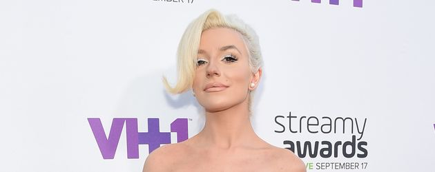 Courtney Stodden bein den Streamy Awards 2015 in L.A.