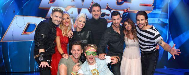 Die fünf verbliebenen Dance Dance Dance-Paare der 3. Show