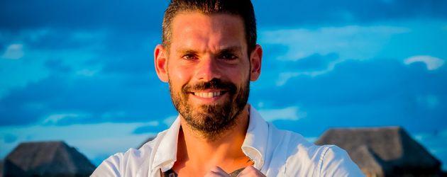 """Daniel Köllerer bei """"Adam sucht Eva - Promis im Paradies"""""""
