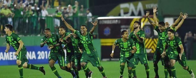 """Das brasilianische Fußballteam """"Chapecoense"""""""