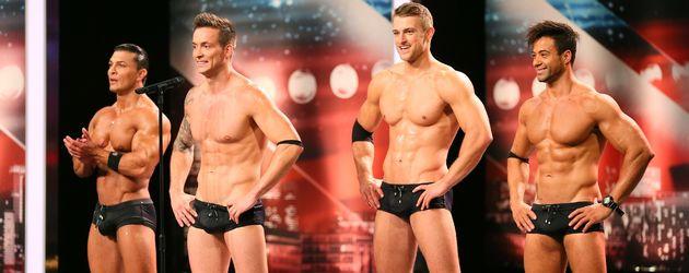 "Striptease-Gruppe SixxPaxx bei ""Das Supertalent"""