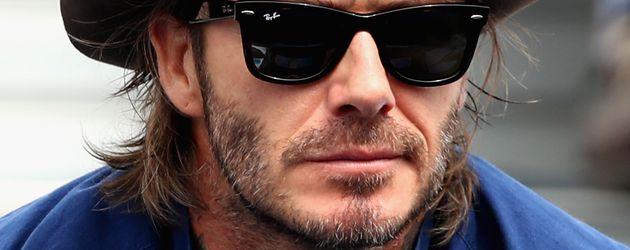 David Beckham in London
