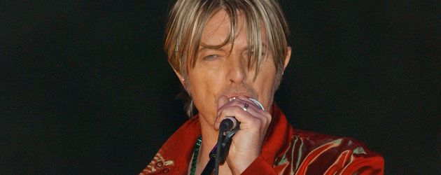 David Bowie beim MTV's Rock and Comedy Concert, 2002
