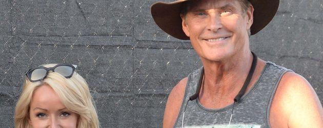 David Hasselhoff und Hayler beim Coachella 2015