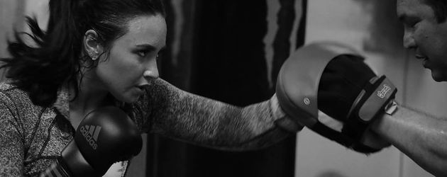 Demi Lovato beim Boxtraining