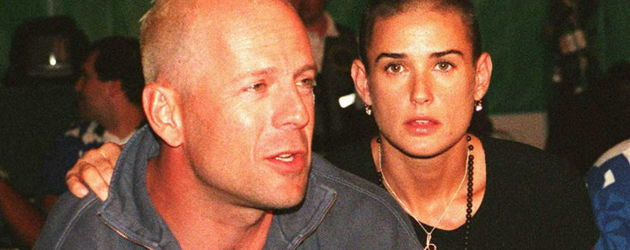 Bruce Willis und Demi Moore