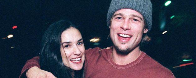 Demi Moore und Brad Pitt im Jahr 1999