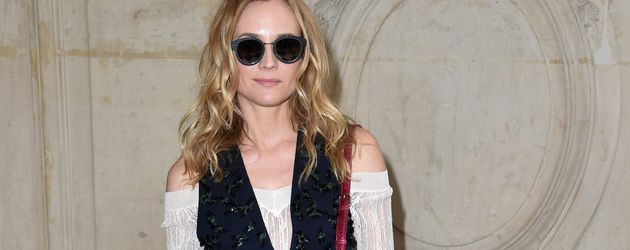 Diane Kruger auf der Paris Fashion Week