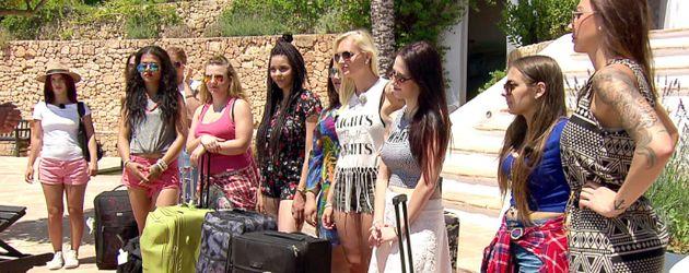 """Die elf Kandidatinnen von """"Kay One - Sängerin gesucht"""" auf Ibiza"""