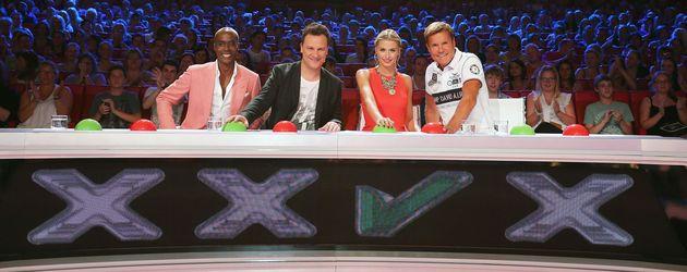 Die Jury vom Supertalent 2013