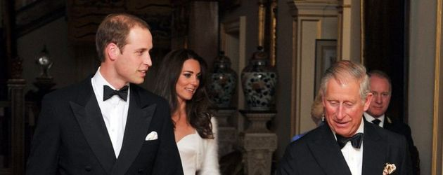 Prinz William, Prinz Charles und Kate Middleton