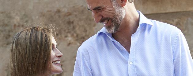 Prinzessin Letizia, Prinz Felipe von Spanien, Prinzessin Leonor von Spanien und Prinzessin Sofía von