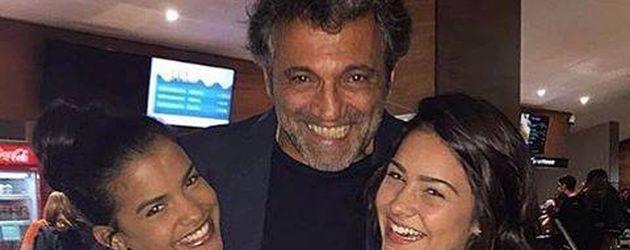 Domingos Montagner mit seinen Töchtern