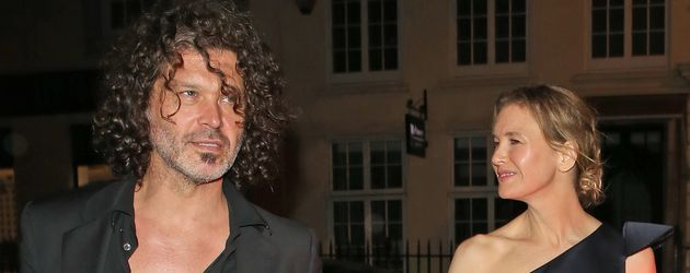 Doyle Bramhall und Renee Zellweger in London
