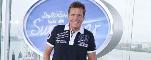 DSDS: Dieter Bohlen posiert