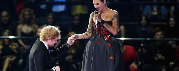 Ed Sheeran und Ruby Rose