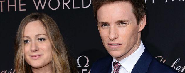 Eddie Redmayne und Hannah Redmayne bei OMEGA-Gala in L.A.
