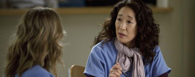 """Ellen Pompeo und Sandra Oh bei """"Grey's Anatomy"""""""