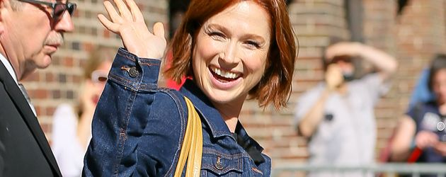 "Ellie Kemper  nach der ""The Late Show with Stephen Colbert"""