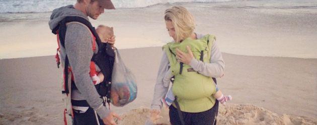 Elsa Pataky und Chris Hemsworth und ihre Kinder