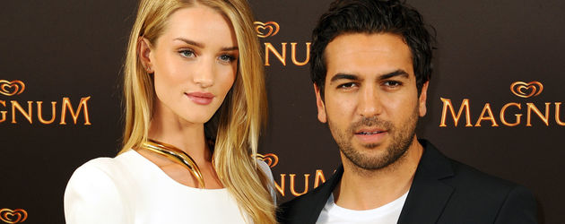 Elyas M'Barek und Rosie Huntington-Whiteley