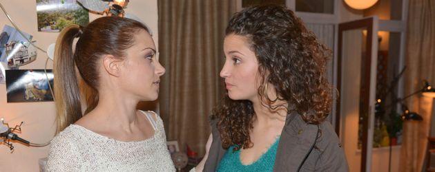 Nadine Menz und Anne Menden