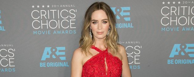 "Emily Blunt bei den ""Critics' Choice Movie Awards"""