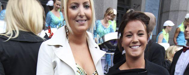 Emma Perland (rechts), Ex-Freundin von Prinz Carl Philip von Schweden